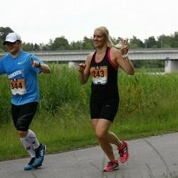 Pärnumaa Võidupüha maraton - Hanna Jeret (243), Martin Mäe (344)