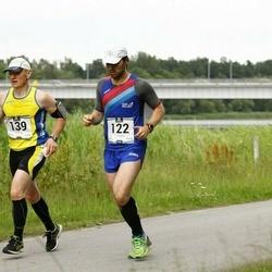 Pärnumaa Võidupüha maraton - Heiki Pruul (122), Andres Siim (139)