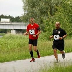Pärnumaa Võidupüha maraton - Avo Puusepp (124), Rene Veliz (167)