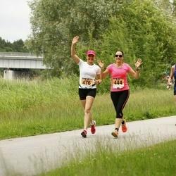 Pärnumaa Võidupüha maraton - Olev Vahemaa (162), Epp Vaiklo (444), Margrit Kärp (476)