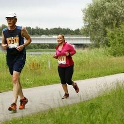 Pärnumaa Võidupüha maraton - Enn Hallik (231), Liisa Lillemets (317)