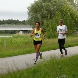 Pärnumaa Võidupüha maraton - Aivi Laurik (79), Markko-Rollin Põdra (127)