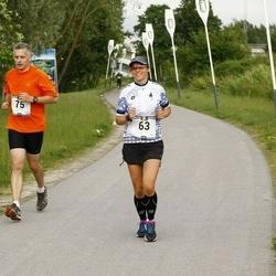 Pärnumaa Võidupüha maraton - Jaanika Kindlam (63), Andres Lainoja (75)