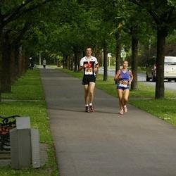 Pärnumaa Võidupüha maraton - Kristi Lasn (306), Mart Kelk (472)