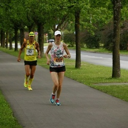 Pärnumaa Võidupüha maraton - Andrus Maiste (92), Jaana Õunaid (458)