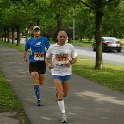 Pärnumaa Võidupüha maraton - Meelis Kokk (277), Ahti Raba (388)