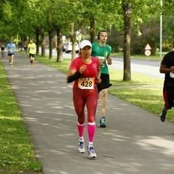 Pärnumaa Võidupüha maraton - Keith Kershaw (270), Anu Taveter (428)