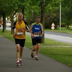 Pärnumaa Võidupüha maraton - Kalle Liebert (315), Rein Toodu (436)