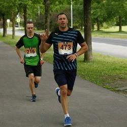 Pärnumaa Võidupüha maraton - Andres Bester (216), Erko Sergejev (473)