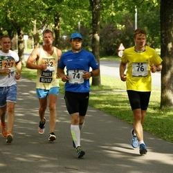 Pärnumaa Võidupüha maraton - Silver Köster (74), Aivar Lankov (76), Stanislav Krasnogorov (287), Eduard Nikiforov (352)