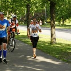 Pärnumaa Võidupüha maraton - Margus Alttoa (208), Annika Võigas (457)