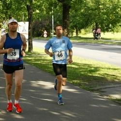 Pärnumaa Võidupüha maraton - Aare Huik (38), Meelis Koskaru (66)