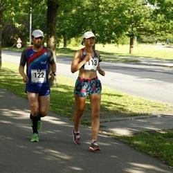 Pärnumaa Võidupüha maraton - Mariia Oprits (113), Heiki Pruul (122)