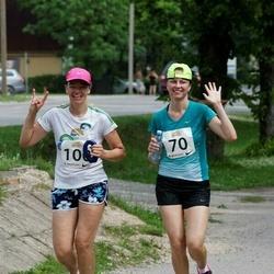 Elva Tänavajooks - Kristiine Siimer (70), Rita Kivila (100)