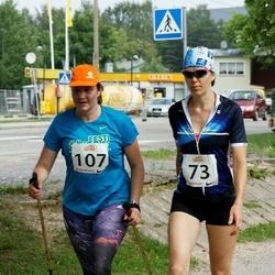 Elva Tänavajooks - Tiina Tiisler (73), Kersti Ross (107)