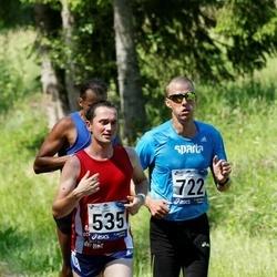 35. jooks ümber Pühajärve - Olari Orm (535), Aivaer Rehemäe (722)