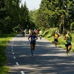 35. jooks ümber Pühajärve - Kristel Metsla (492), Raul Seema (617)