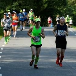 35. jooks ümber Pühajärve - Raiko Heide (28), Olle Selliov (64)