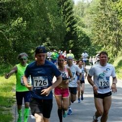 35. jooks ümber Pühajärve - Rein Kalle (120), Aron Koppel (726)