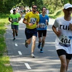 35. jooks ümber Pühajärve - Egert Koov (404), Toomas Orason (534)