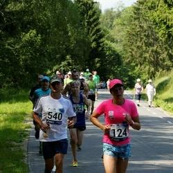 35. jooks ümber Pühajärve - Elizabeth Truve (124), Aigor Paas (540)