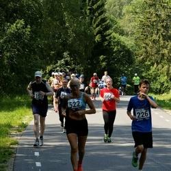 35. jooks ümber Pühajärve - Markus Kivistik (226), Marge Nõmm (522)