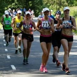 35. jooks ümber Pühajärve - Triinu Vister (713), Anu Poopuu (730)