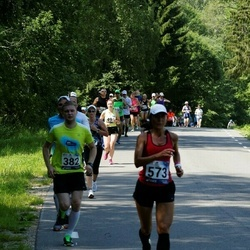35. jooks ümber Pühajärve - Urmo Karu (382), Riina Rahuoja (573)