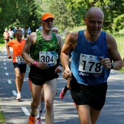 35. jooks ümber Pühajärve - Andrus Kivari (178), Ain Ainsaar (304)