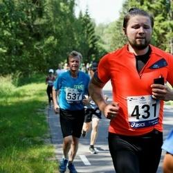 35. jooks ümber Pühajärve - Rain-Alari Külm (431)
