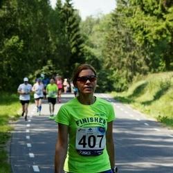 35. jooks ümber Pühajärve - Margit Krieger (407)