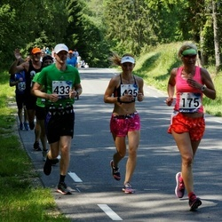 35. jooks ümber Pühajärve - Ruth Pallo (175), Aimur Kütt (433), Viktoria Kütt (435)