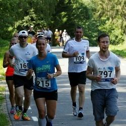 35. jooks ümber Pühajärve - Kerttu Aaring (215), Andres Juhkom (797)