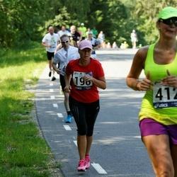 35. jooks ümber Pühajärve - Linda Vooremäe (196), Katrin Kruusamägi (412)
