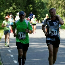 35. jooks ümber Pühajärve - Aare Kilp (394), Jaan Mägin (511)