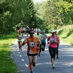 35. jooks ümber Pühajärve - Sergei Istsenko (148), Marju Mikli (221)