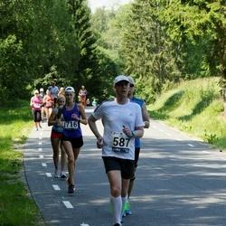 35. jooks ümber Pühajärve - Juho Reintam (587), Saskia Vunk (716)
