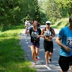 35. jooks ümber Pühajärve - Janno Rebane (239), Berit Vals (690), Marge Kõrkjas (766)