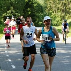 35. jooks ümber Pühajärve - Kai Kaljumäe (270), Martin Kala (364)