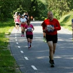 35. jooks ümber Pühajärve - Agnes Siniorg (628)