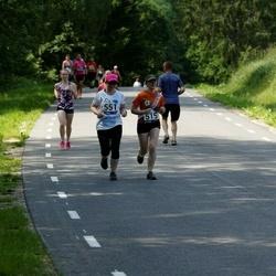 35. jooks ümber Pühajärve - Kristiina Mölder (515), Gerli Piik (551)