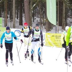 42. Tartu Maraton - Jan Reimann (1036), Arnold Loos (1806), Olavi Jüriöö (2066)