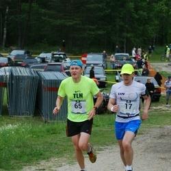 Pärnumaa Võidupüha maraton - Martin Andla (17), Aivar Koppas (65)