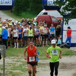 Pärnumaa Võidupüha maraton - Janno Juhkov (43), Ergo Meier (95)