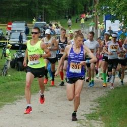Pärnumaa Võidupüha maraton - Roman Fosti (201), Kaupo Sasmin (202)