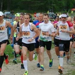 Pärnumaa Võidupüha maraton - Raivo Pärnpuu (361), Eero Raudsepp (391)