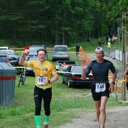 Pärnumaa Võidupüha maraton - Priit Sipelgas (140), Mait Pärg (180)