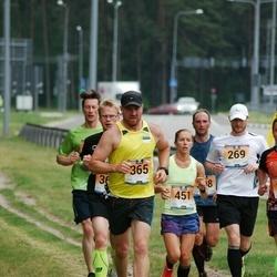 Pärnumaa Võidupüha maraton - Kaimar Kerno (269), Pirko Palu (365), Mirtti Verbitskas (451)