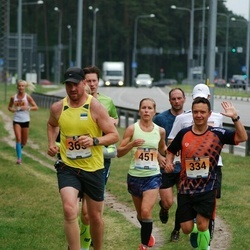 Pärnumaa Võidupüha maraton - Aado Metsis (334), Pirko Palu (365), Mirtti Verbitskas (451)