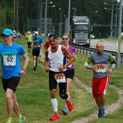 Pärnumaa Võidupüha maraton - Karl Kaljumäe (52), Anre Kuldja (290), Märt Lääts (327)